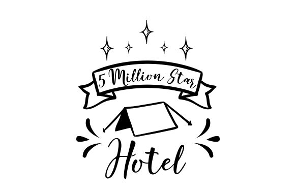 5 Million Star Hotel Nature & Outdoors Craft Cut File By Creative Fabrica Crafts - Image 1