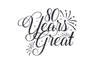 80 Years Great Craft Design By Creative Fabrica Crafts