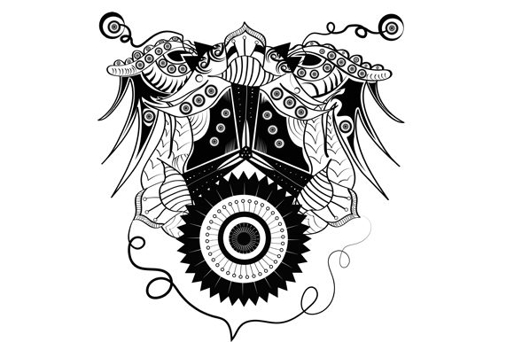 Print on Demand: Abstract Ornamental Graphic Illustrations By imammuslim835