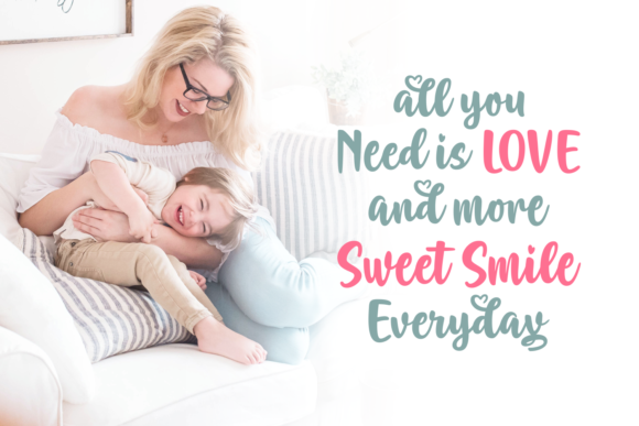 Print on Demand: Adorable Mommia Script & Handwritten Font By Situjuh - Image 3