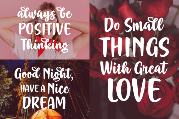 Print on Demand: Adorable Mommia Script & Handwritten Font By Situjuh - Image 4