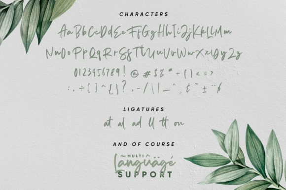Print on Demand: Aedesty Script & Handwritten Font By Mas Anis - Image 12