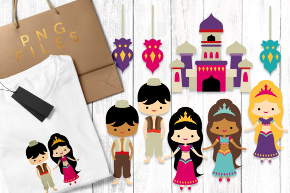 Print on Demand: Aladdin Graphic Illustrations By Revidevi