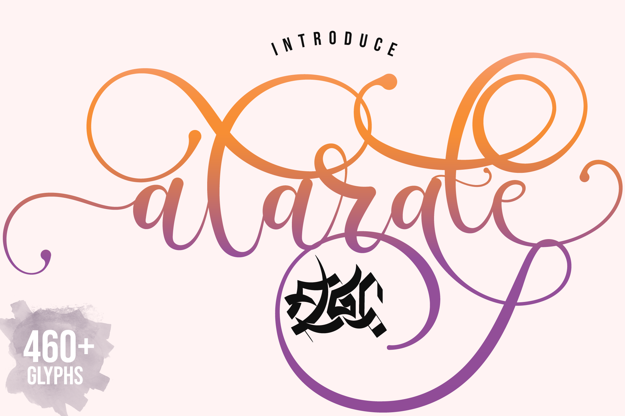Download Free Alarate Script Font By Fallengraphic Creative Fabrica for Cricut Explore, Silhouette and other cutting machines.