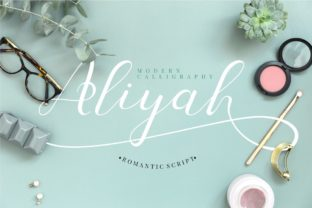 Aliyah Font By putracetol