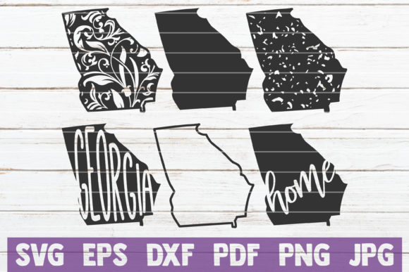 All 50 USA States SVG Bundle   Cut Files Graphic Graphic Templates By MintyMarshmallows - Image 7