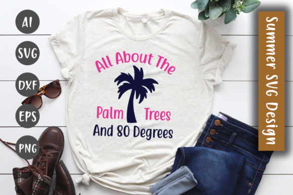 Print on Demand: All About the Palm Trees Graphic Crafts By CreativeArt