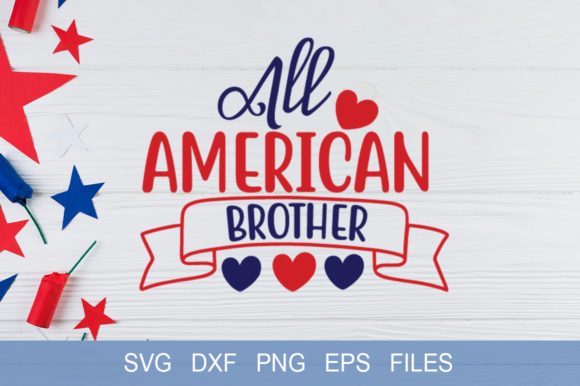 All American Brother Graphic Print Templates By Graphicsqueen