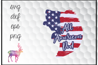 Download Free All American Dad Fishing Svg Graphic By Majesticmooseprints for Cricut Explore, Silhouette and other cutting machines.