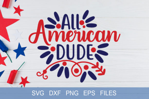 All American Dude Graphic Print Templates By Graphicsqueen