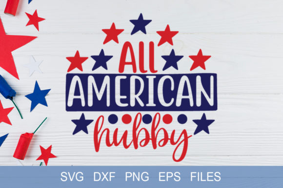 All American Hubby Grafik Druck-Templates von Graphicsqueen