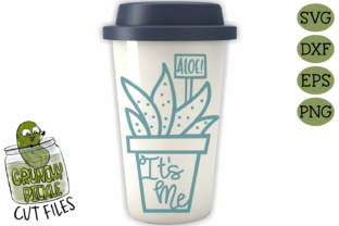 Aloe It's Me Pot SVG Graphic By Crunchy Pickle