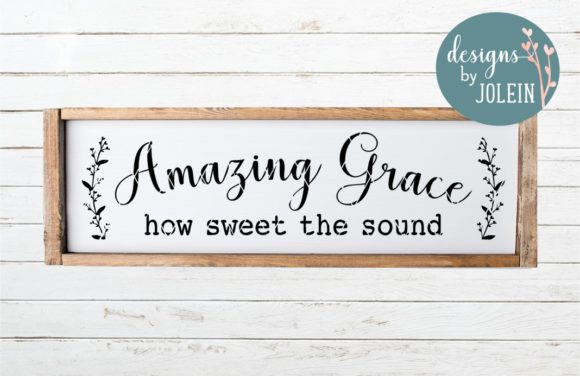 Print on Demand: Amazing Grace Graphic Crafts By Designs by Jolein