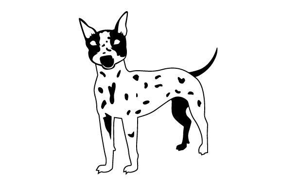 American Hairless Terrier Dog Breed Dogs Craft Cut File By Creative Fabrica Crafts - Image 2