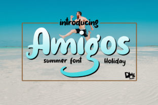 Amigos Font By dmletter31