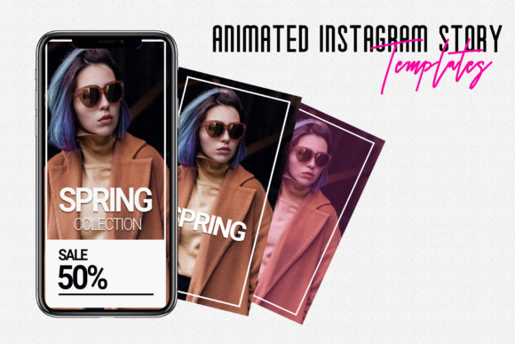 Animated Instagram Stories Templates Graphic By gumacreative