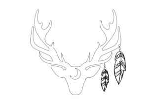 Antlers Craft Design By Creative Fabrica Crafts