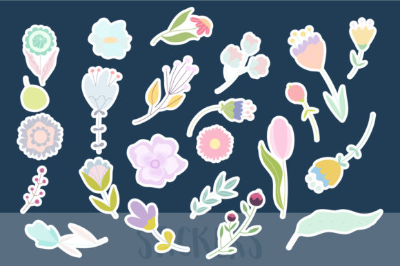 April Meadow. Floral Illustrations. Graphic Illustrations By Sentimental Postman - Image 2