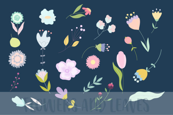 April Meadow. Floral Illustrations. Graphic Illustrations By Sentimental Postman - Image 4