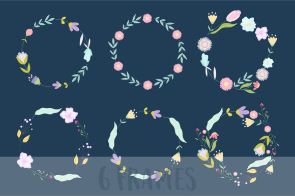 April Meadow. Floral Illustrations. Graphic Illustrations By Sentimental Postman - Image 5