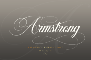 Armstrong Font By Pasha Larin