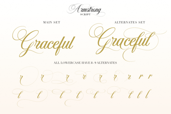 Armstrong Font By Pasha Larin Image 5