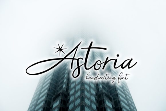 Print on Demand: Astoria Script & Handwritten Font By Eva Barabasne Olasz
