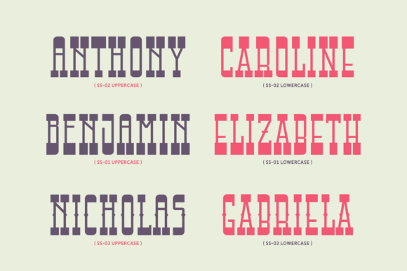 Print on Demand: Attractive Slender Display Font By Keithzo (7NTypes) - Image 3