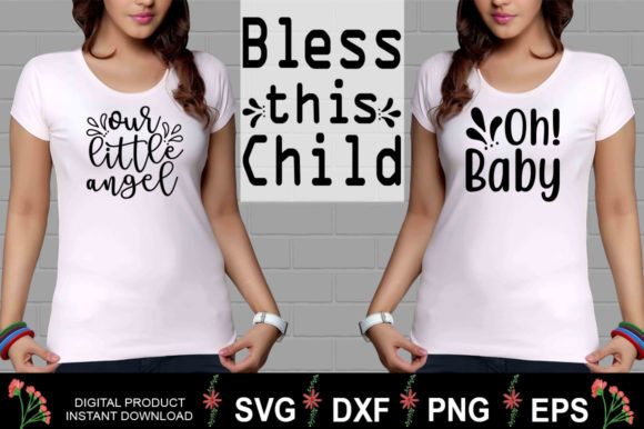 Download Free Baby Boy Girl Svg Design Bundle Graphic By Aesthetic Studio for Cricut Explore, Silhouette and other cutting machines.