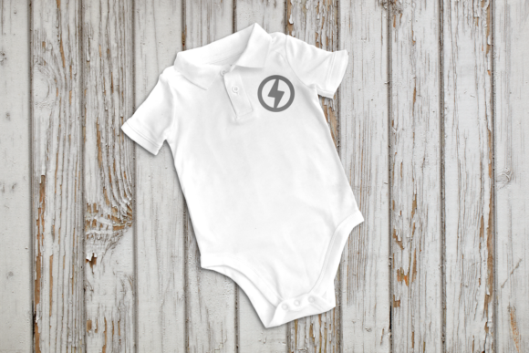 Baby Clothes Product Mock Up Graphic Product Mockups By RisaRocksIt - Image 4