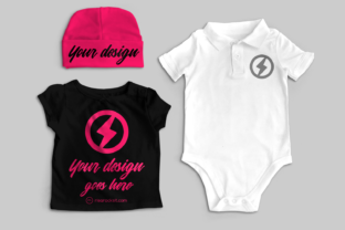 Baby Clothes Product Mock Up Graphic By RisaRocksIt