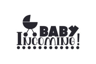 Baby Incoming! Craft Design By Creative Fabrica Crafts
