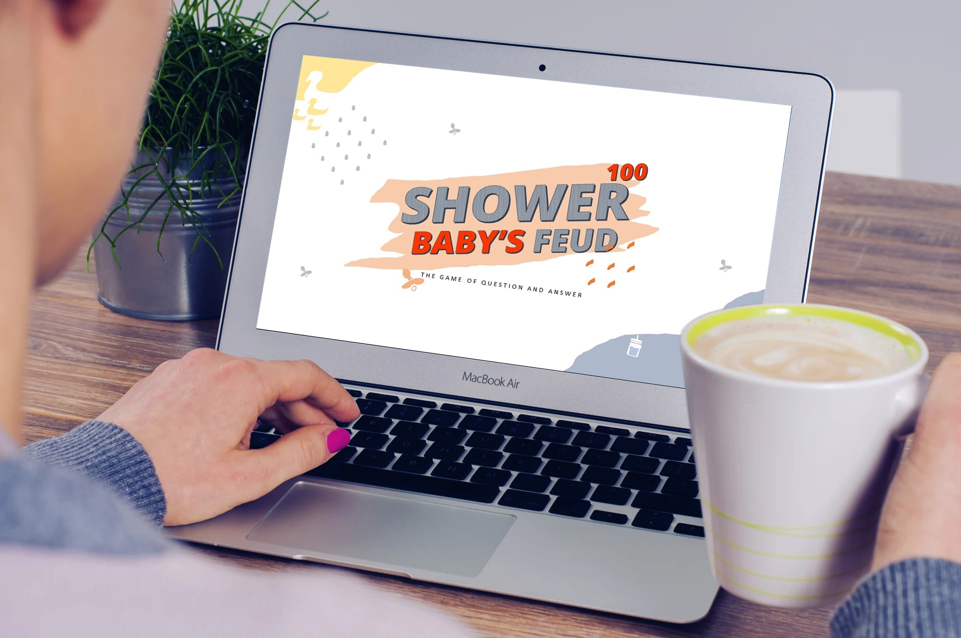 Download Free Baby Shower Family Feud Powerpoint Game Graphic By Rivatxfz Creative Fabrica for Cricut Explore, Silhouette and other cutting machines.