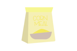 Bag of Corn Meal Craft Design By Creative Fabrica Crafts