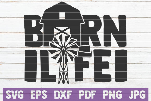 Download Free Barn Life Svg Cut File Graphic By Mintymarshmallows Creative for Cricut Explore, Silhouette and other cutting machines.