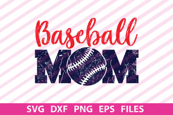 Print on Demand: Baseball Mom  Graphic Print Templates By Designartstore