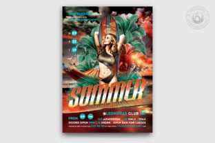 Beach Party Flyer Template V2 Graphic By ThatsDesignStore
