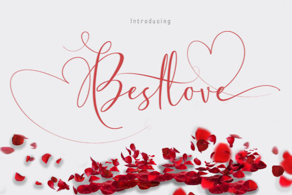 Print on Demand: Bestlove Script & Handwritten Font By Sulthan Studio