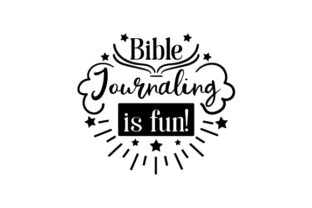 Bible Journaling is Fun! Craft Design By Creative Fabrica Crafts
