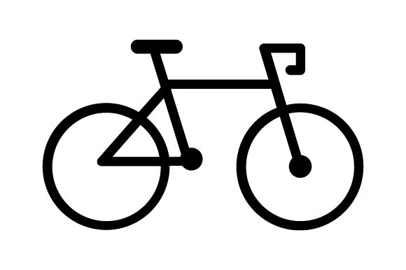 Download Free Bike Icon Graphic By Marco Livolsi2014 Creative Fabrica for Cricut Explore, Silhouette and other cutting machines.