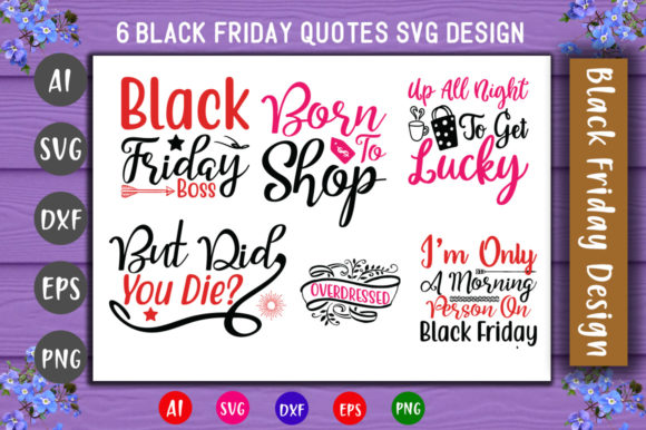 Print on Demand: Black Friday Bundle Graphic Crafts By CreativeArt