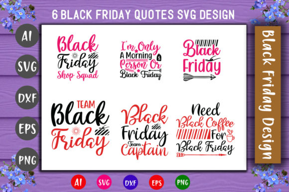 Print on Demand: Black Friday Graphic Crafts By CreativeArt