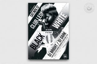 Black and White Party Flyer Template Graphic By ThatsDesignStore