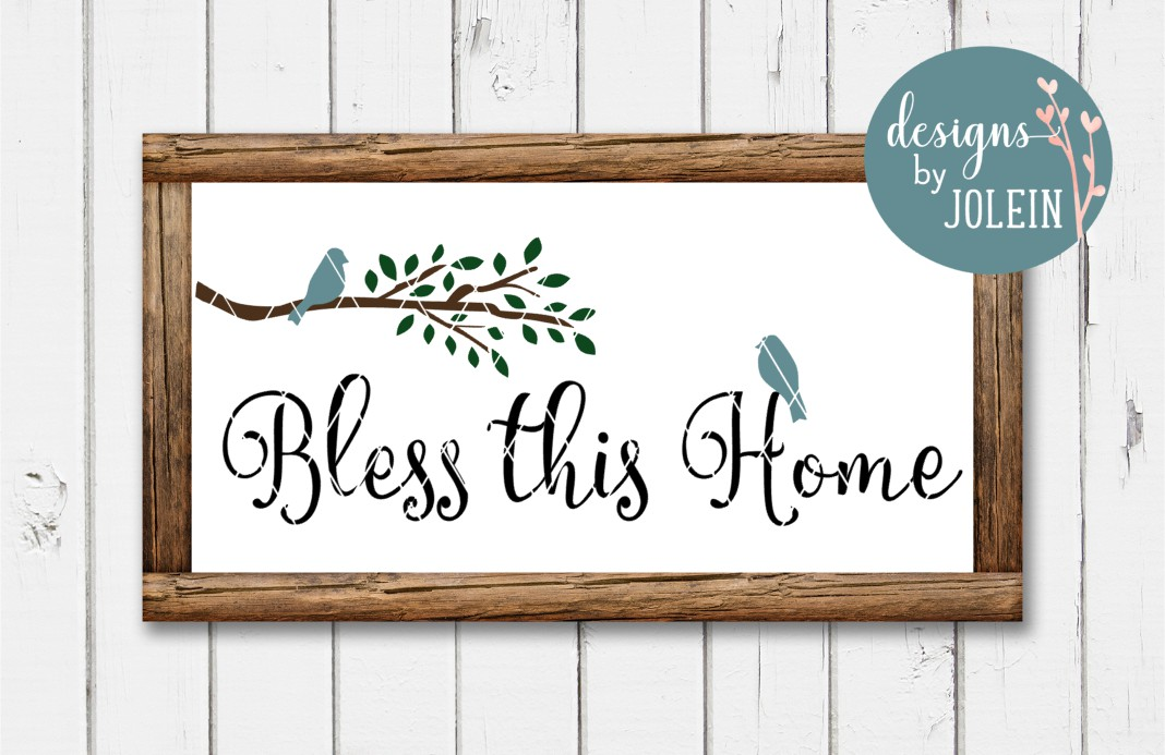 Bless This Home Graphic By Designs By Jolein Creative Fabrica