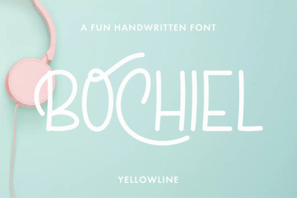 Print on Demand: Bochiel Display Font By yellowline