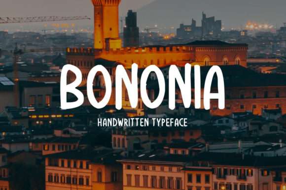 Print on Demand: Bononia Display Font By Imposing Fonts