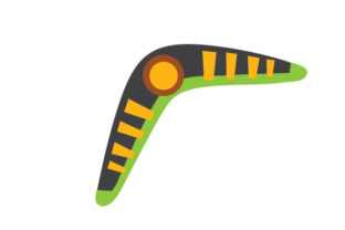 Boomerang Craft Design By Creative Fabrica Crafts