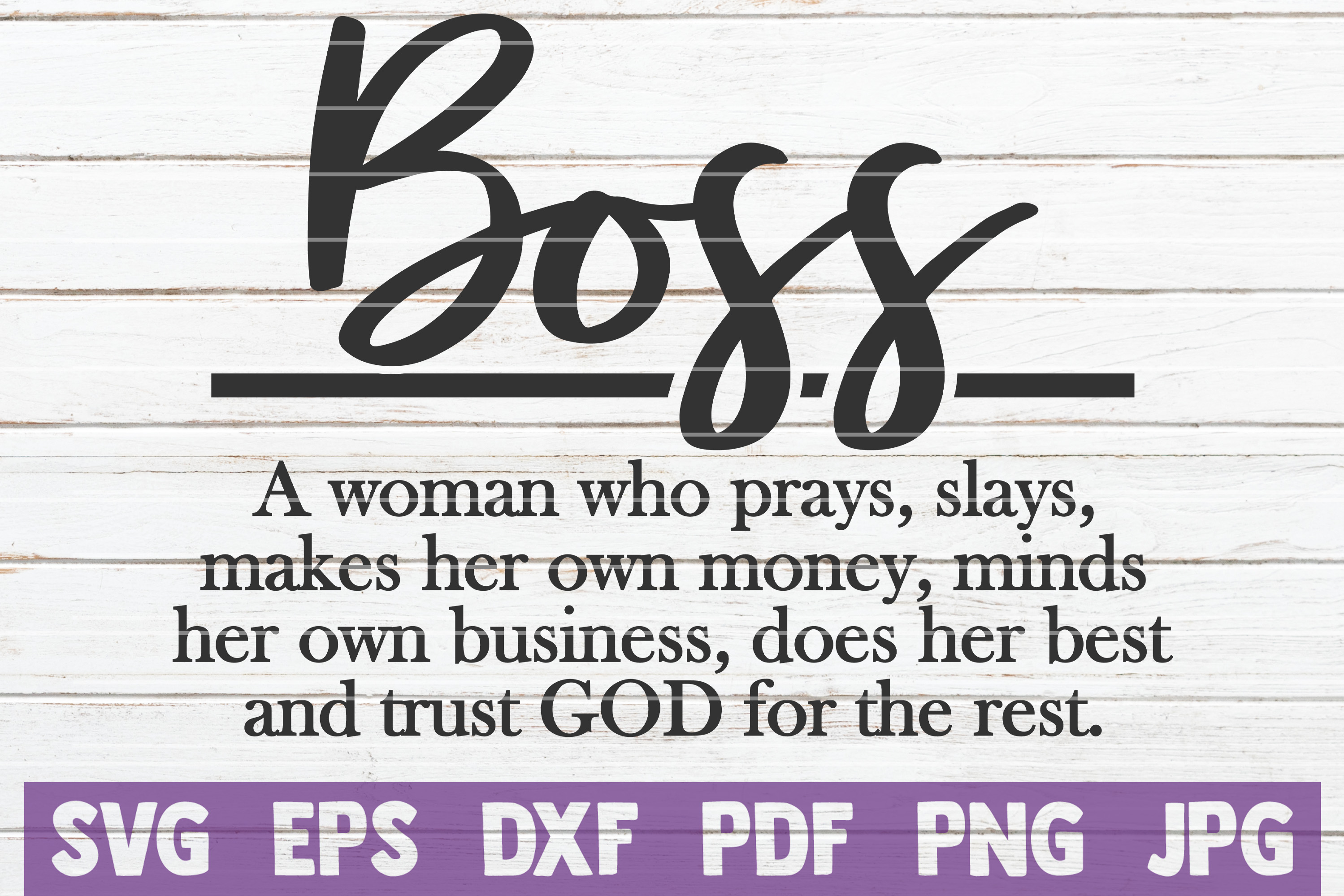 Download Free Boss Woman Definition Svg Cut File Graphic By Mintymarshmallows for Cricut Explore, Silhouette and other cutting machines.