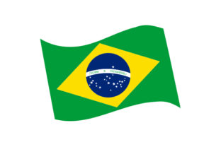 Brazil Flag Craft Design By Creative Fabrica Crafts