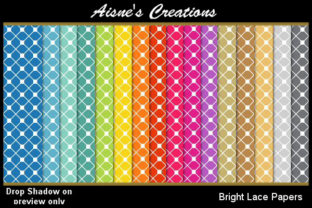 Bright Lace Paper Pack Graphic By Aisne
